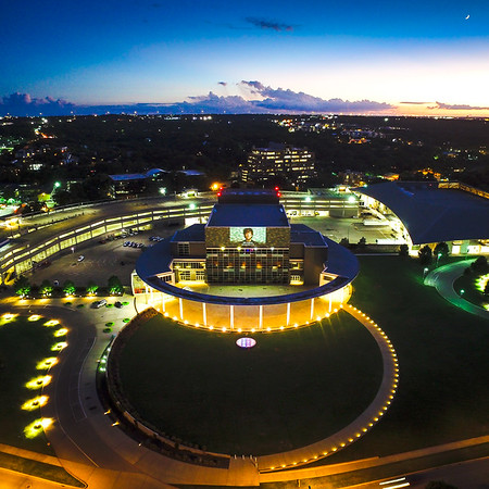Crescent Moon and the Long Center