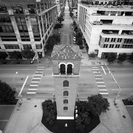 The Buford Tower in Downtown Austin