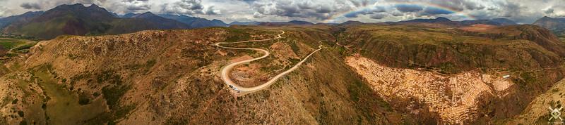 The Salt Mines of Maras, Peru