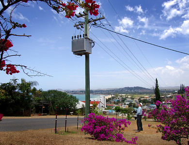 2006 Ergon Safety Calendar photos.  Photo locations - Thursday Island, Mareeba, Townsville, Rockhampton, Yeppoon, Bundaberg, Emerald, Charleville, Longreach, Toowoomba, Brisbane - Photos: Cameron Laird