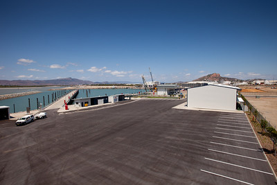 31 October 2011 Townsville, Queensland - Laing O'Rourke's Townsville Marine Precinct project - Photo: Cameron Laird (Ph: 0418238811)