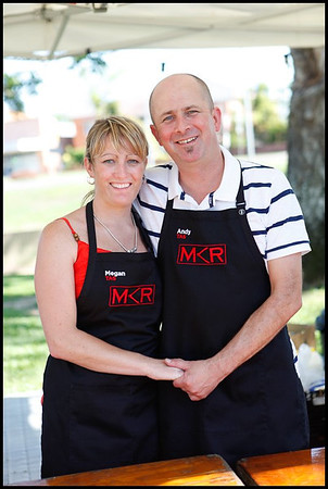29 October 2011 Ingham, Queensland - My Kitchen Rules films in Ingham during the Maraka Festival - Photo: Cameron Laird (Ph: 0418238811)