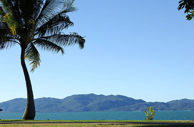 19 JUL 2006 TOWNSVILLE, QLD - Restaurant review at Watermark on Townsville's Strand.  The stunning view from the restaurant - PHOTO: CAMERON LAIRD