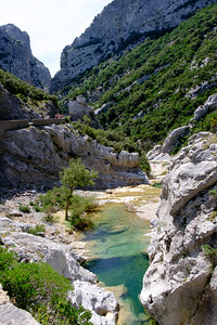 A week's holiday based at St Nazaire near Perpignan, in southern France. The Gorges de Galamus, Saint-Paul-de-Fenouillet, on Wednesday 15 July 2015.