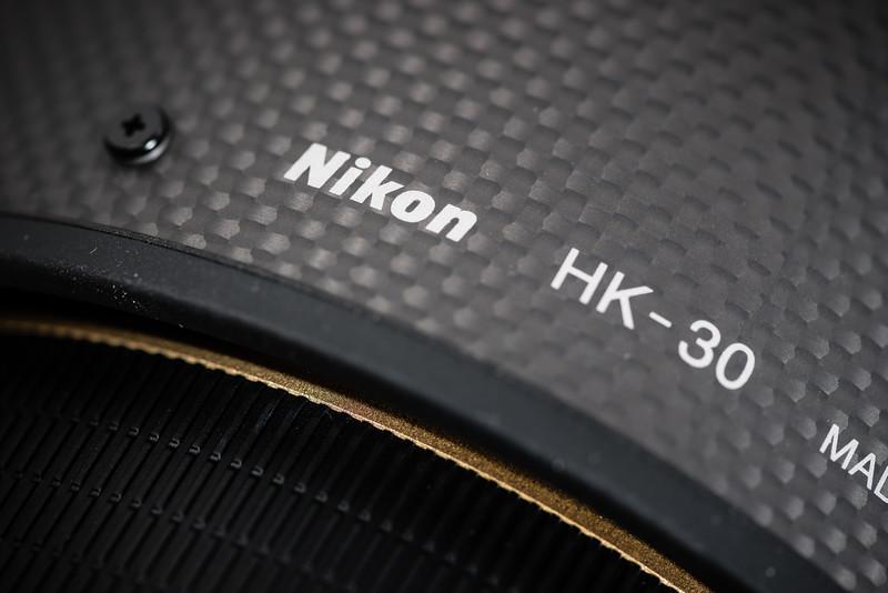Nikon Carbon Fiber Hood =D
