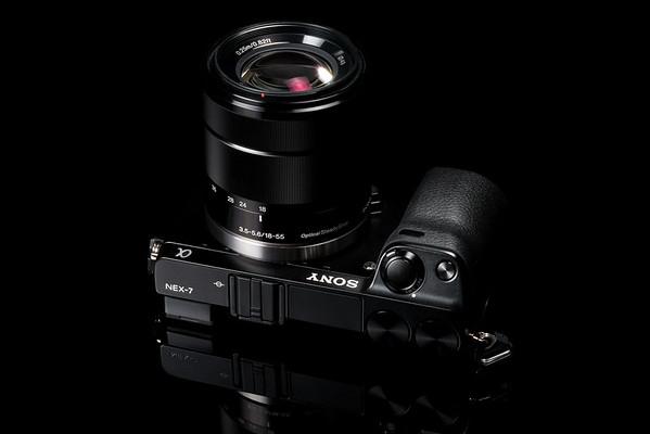NEX-7 with kit lens