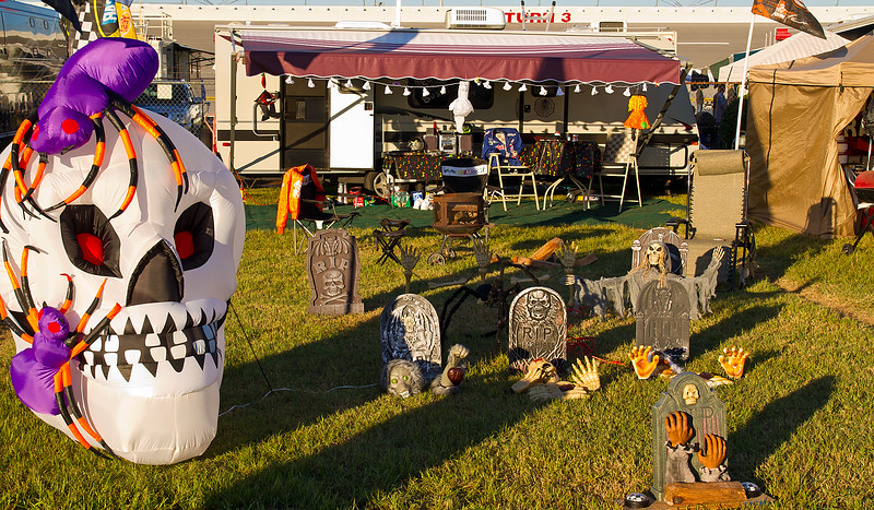 Infield scares and frights at Talladega prior to 2010 Mountain Dew 250 and Amp Energy Juice 500.