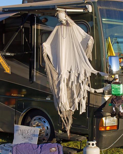 More frights and fun at 2010 Talladega Halloween Race.