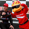 IndyCar Driver Will Power and Firehawk Victory Lane Barber 2012