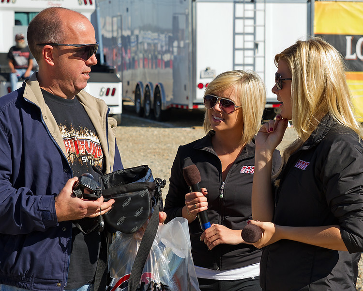 Speed Girls at Talladega for the Fall races.