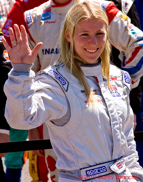 Firestone Indy Lights Pippa Mann