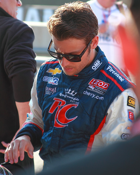 IndyCar Driver Marco Andrett