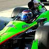 Danica Patrick departing pit at  Barber Motorsports Park Alabama Indy Grand Prix of Alabama