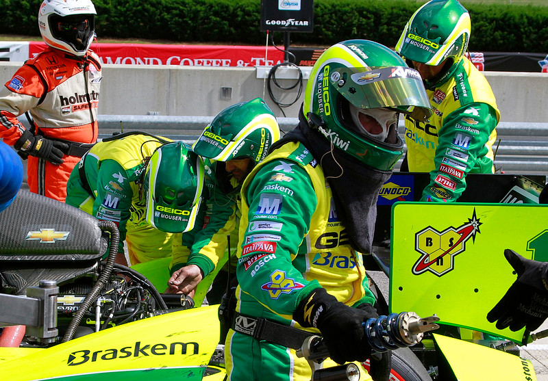 Kanaan No. 11 GEICO Mouser Electronics IndyCar Team Replace Damper Spring Assembly Barber