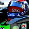 Danica Patrick on pit road at Barber Motorsports Park Alabama Indy Grand Prix of Alabama