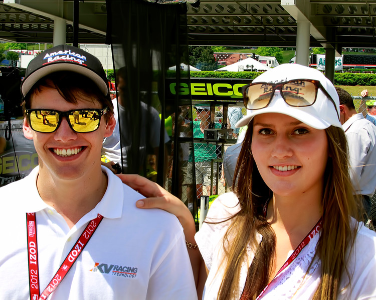 KV Racing Friends Family and Fans Alike of IndyCar Enjoyed the Great Weekend at Barber Motorsport Park