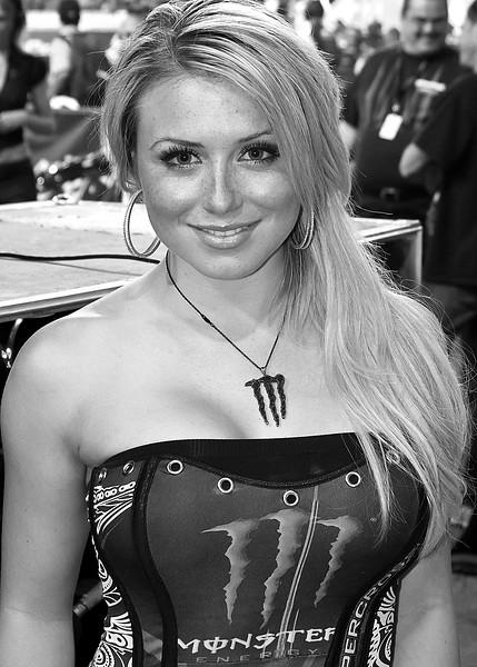 Monster Girl Atlanta AMA Supercross