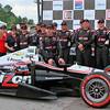 No. 12 Penske Racing Verizon IndyCar Team Victory Lane Barber