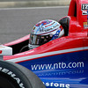 IndyCar Driver Graham Rahal Service Central Car being Refueled at Barber Motorsports Park