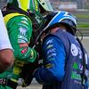 KV Racing IndyCar Kanaan and Barrichello teams address damper spring problem Barber