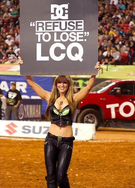 Refuse to Lose Monster Girl Atlanta AMA Supercross
