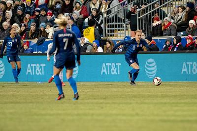 2019 She Believes Cup: USA vs. Japan Feb. 27