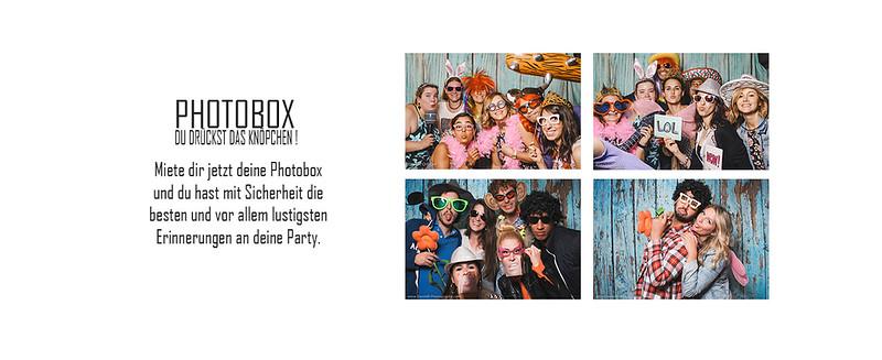 Miete eine Photobox für deine Party