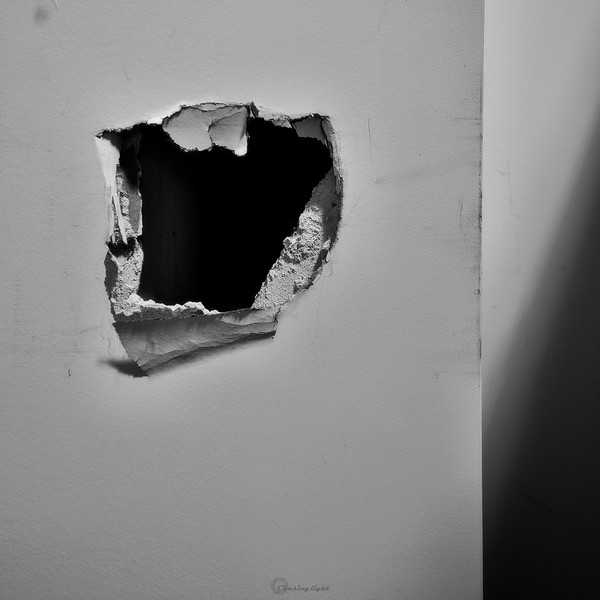 - A little hole in the wall I know
