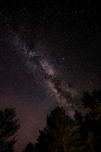 - Under the stars