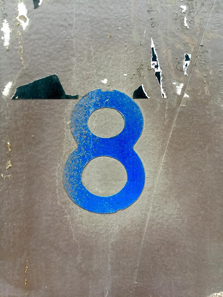 - The number eight