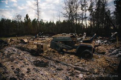 germann_road_forest_fire_destroyed_garage_craftsman_lawn_mower