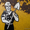 "Kiddie Safety Tip #1 (Day 131)  Never taunt a man wielding a shovel. Especially when they are smiling like this.  To get back to the shot of the day, click <a href=""http://www.nawset.com/gallery/7032225_oFapa#539053684_HKcKt"">here</a>.   (2009-05-15 5:02pm)"