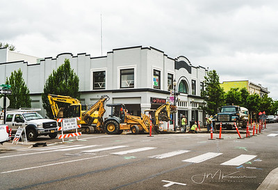 87/100 - Construction on the Sink Hole