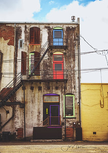 100/100 - Colored Doors Downtown