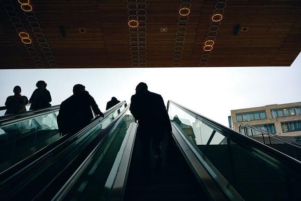 Commuting in Zurich