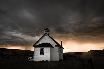 Dorothy Old Church, Crazy Sky