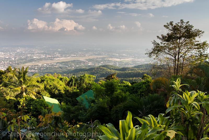 Chiang Mai valley in November