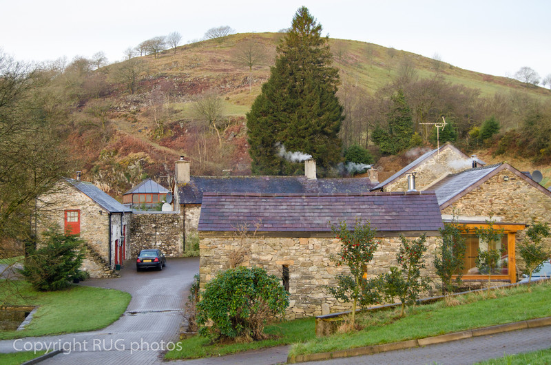 We stayed in the Wheat Sheaf Cottage (on the left). Originating in the 16th Century, the farmhouse and cottages are set amid the rolling hills of the County of Carmarthenshire.