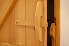 All internal doors were rustic pine with these wonderful latches.
