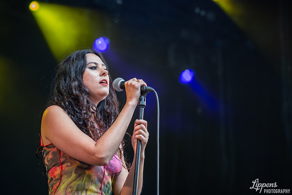 Eliza @ Cactus Festival, Accrediitation by Frontview Magazine