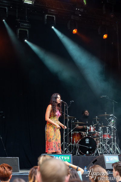 Eliza @ Cactus Festival, Accrediitation by Frontview Magazine