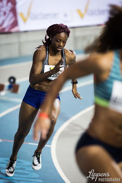 Start of Banjo Susanne in 400m Women AC Heats, Heat 3