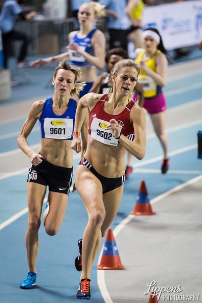 Rebekka Ackers, (NED) in 800m Women Heats, Heat 1