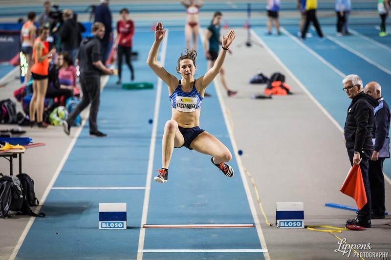 Klaudia Kaczmarek, Long Jump Women