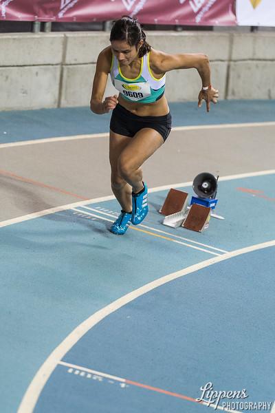 Indah Van Marrewijk starts in 400m AC Women Heats, Heat 6