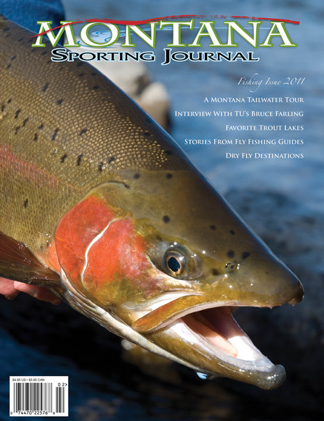 Montana Sporting Journal 2011 Fishing Issue Cover