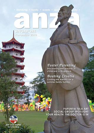 ANZA Nov 2010 Cover