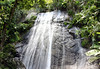 La Coca Falls, a horsetail waterfall - in the El Yunque National Forest