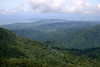 From the Luguillo Mountains in the El Yunque National Forest - to Bahia Las Cabezas (northeastern most point of Puerto RIco) - with the Icacos Cay, beyond the point - and Islas de Ramos and Palominos, off the eastern coast from the city of Fajardo
