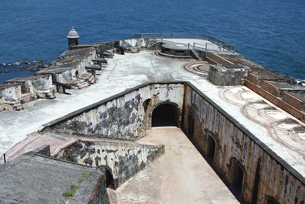 Santa Barbara Battery - of Fort San Felipe del Morro - located at the mouth of the San Juan Bay